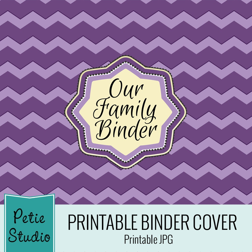 Sale 60% Off Instant Download: Printable Binder By PetieStudio
