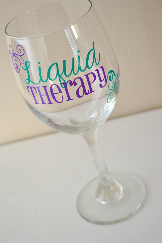 Liquid Therapy Wine Glass 20oz