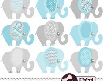 elephant baby shower clipart - photo #13