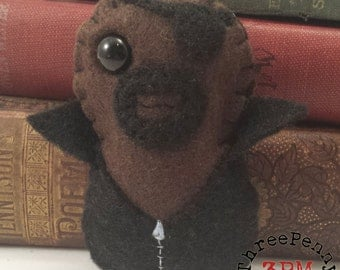 Director Nick Fury plushie