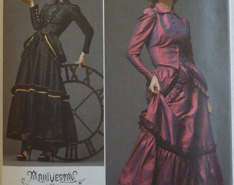 Sewing Pattern Simplicity 2207 - ArkiVestry Haunt Couture - Women's Costume Dress - Size 6, 8, 10, 12 - UNCUT