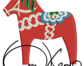 MACHINE EMBROIDERY FILE - Scandinavian horse