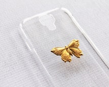 Cell Phone Cases Galaxy S4 Unique Vintage Hard Plastic Cover Snap On Durable Protector Butterfly Gold Transparent Clear Case Samsung Bling