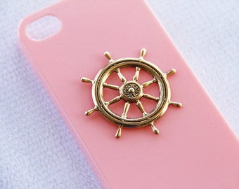 Girly iPhone  Case Pink Pastel iPhone 7 Phone Case Smartphone Cover Nautical iPhone 7  Chic Elegant Minimalist for Girls iPhone 7 Case
