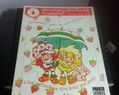 Strawberry Shortcake Vintage 1980s frame tray puzzle kid toy children game play collectible nostalgia cool cartoon