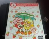 Strawberry Shortcake Vintage 1980s frame tray puzzle kid toy children game play collectible nostalgia cool cartoon