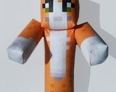 Custom Plush Minecraft inspired Toy Using Skin of your Choice!