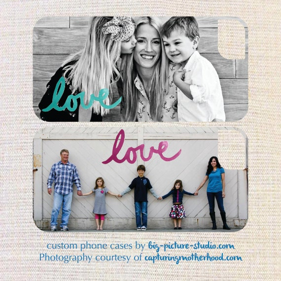 LOVE: Custom Photo iPhone/Galaxy Case