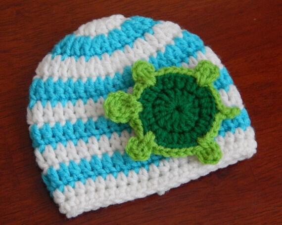 Baby Boy Summer Beanie Baby Boy Crochet Hat Boy Beach Hat