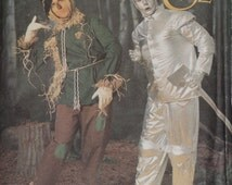 Uncut Simplicity 7820 ADULT Tin Man & Scarecrow from Wizard of Oz Costume SEWING Pattern X-Sm.-X-Lg.