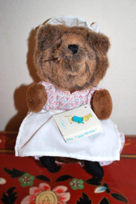 Vintage 1981 Mrs. Tiggy Winkle Beatrix by MissBargainHuntress
