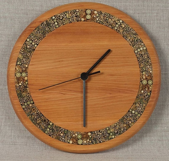 Items Similar To Unique Wall Clocks Large Wooden Clock