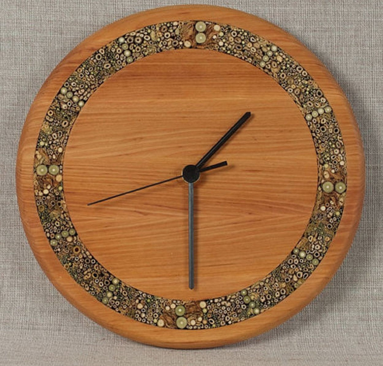 Unique Wall Clocks Large Wooden Clock Rustic Wood By Anerywood
