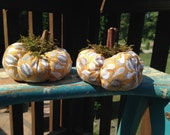 Primitive,Pumpkin,Gourd, Fabric,Small, Shelf,Table, Thanksgiving,Harvest, Halloween,Bowl Filler, Home, Decor,FAAP,OFG,PrimitiveStateofMind