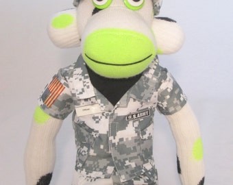Andrew, The US Army Sock Monkey
