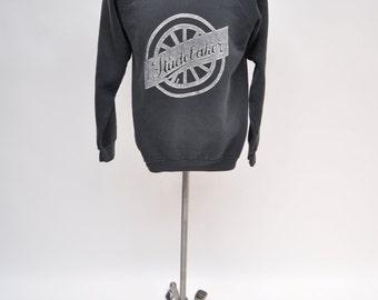 vintage sweatshirt STUDEBAKER retro 1980s graphic large