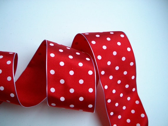 dotted red ribbon and - photo #20
