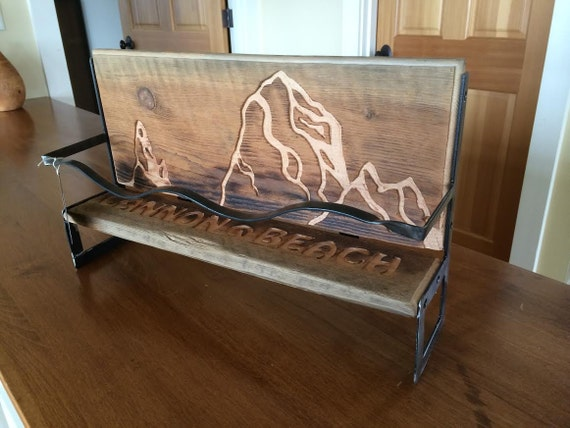 Cannon beach oregon reclaimed barn wood counter top kitchen Reclaimed wood furniture portland