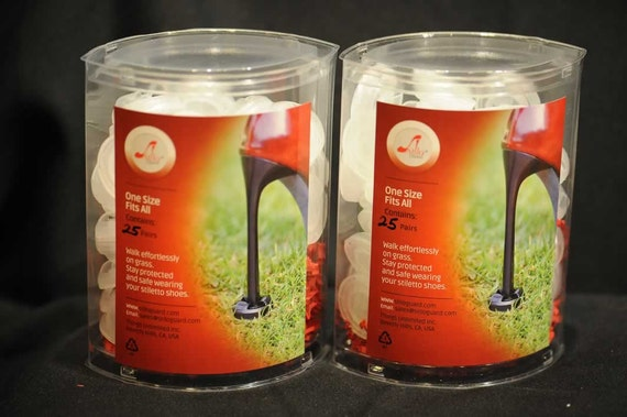 Spring Sale! StiloGuard® (25 Pairs) High Heel Protectors