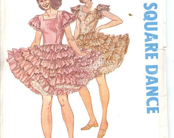 Authentic Patterns 310 Square Dance Sewing Pattern  ID655