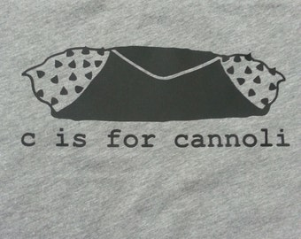 C is for Cannoli Italian Kid's/Infant's T-Shirt