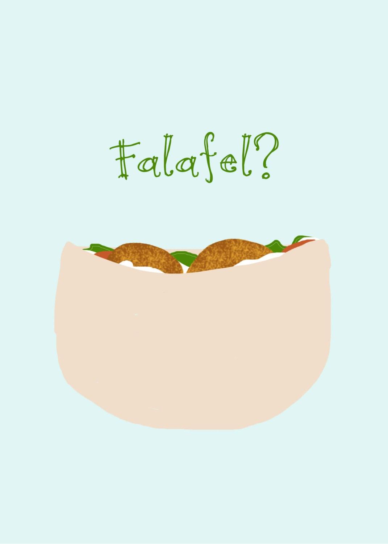 Falafel Drawing   www.pixshark.com - Images Galleries With ... Falafel Clipart