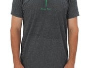 "Men's Short Sleeved Golf ""Plain Tee"" T-Shirt 