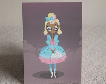 Sweet lolita postcard