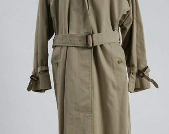 1980's Burberrys Trench Coat, Burberrys Coat, Vintage Trench Coat, Vintage Burberrys Trench Coat, 1980s Coat, Vintage Coat, Designer Coat