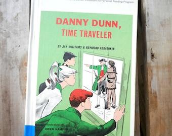 Danny Dunn, Time Traveler, Jay Williams, Raymond Abrashkin, 1963, Science Fiction, juvenile