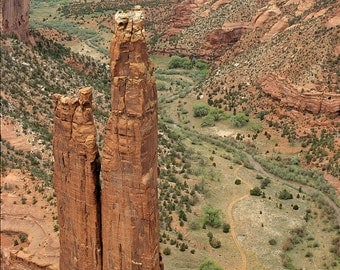 Spider Rock, Canyon de Chelley National Monument, Arizona - Fine Art Landscape Giclée Print