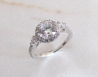 AmourJewellery - Fine Handcrafted Engagement Ring; Style RB0068; 14K Gold