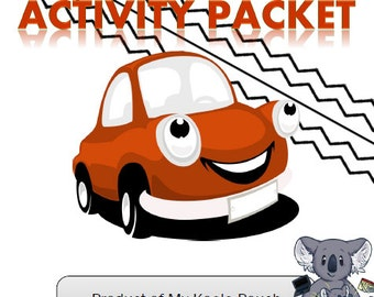 Car Ride, Transportation, and Car Themed Games, Songs, Activities, and More!