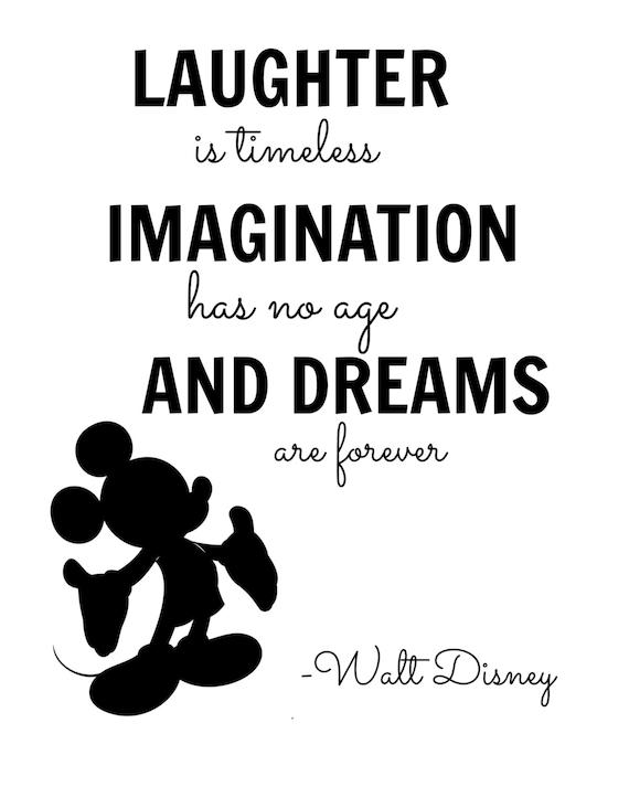Walt Disney Imagination Quote Digital Wall by ...