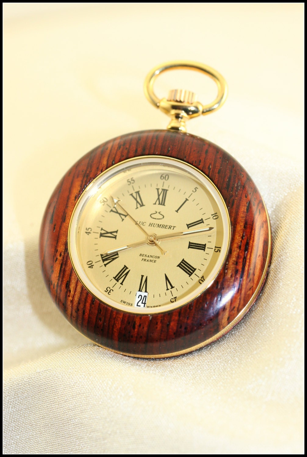 wooden wood pocket pocket watches for
