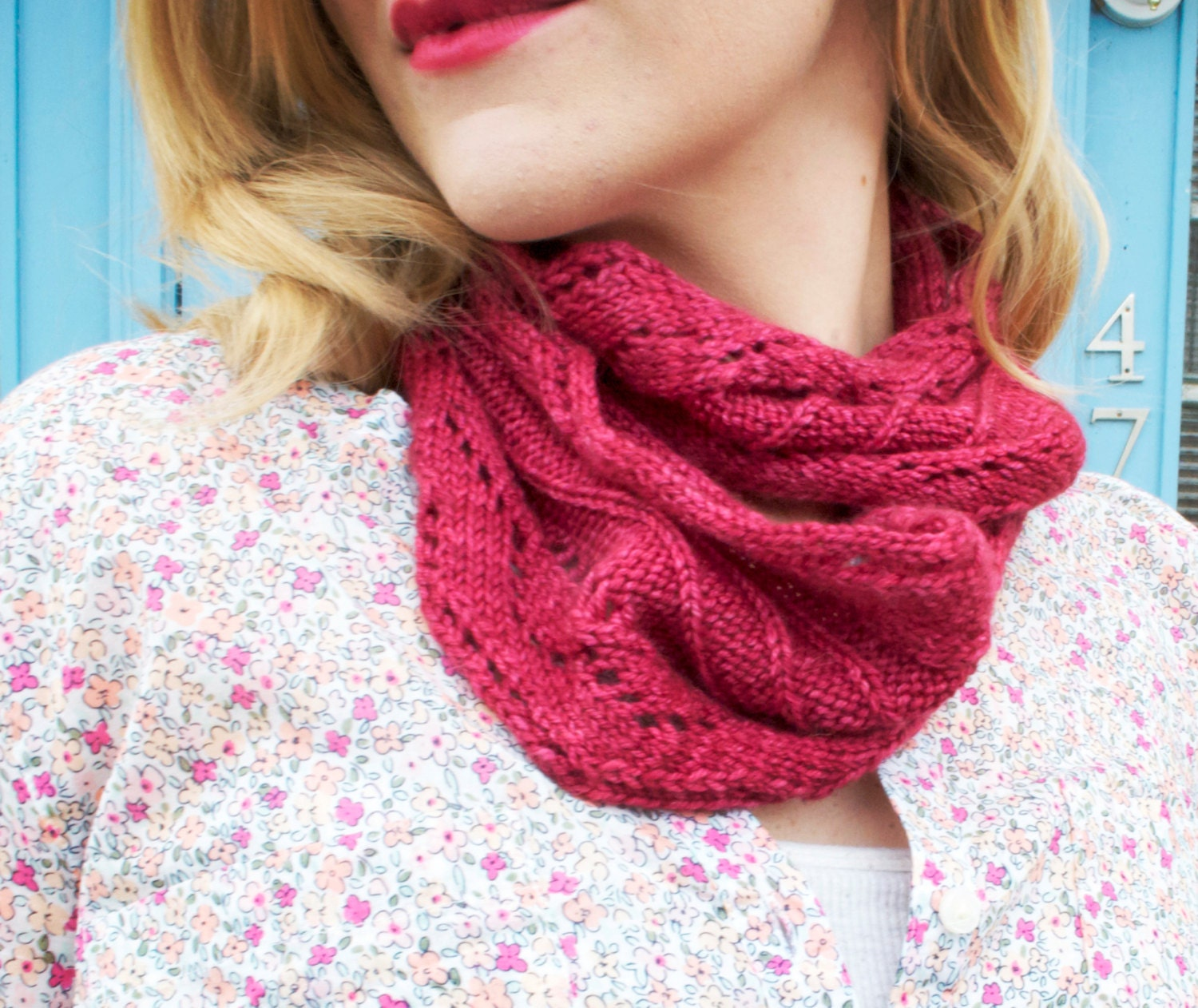 Lunch With A Friend Knit Cowl Pattern From Stackedwoolens