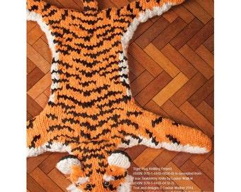 Tiger Rug Knitting Pattern Download 803729