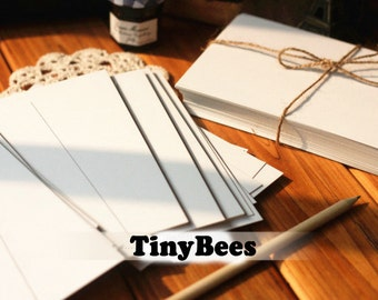White Paper Blank Postcards (10 pc / 10cm x 15cm) Diy Cards Card Making Scrapbooking C0018