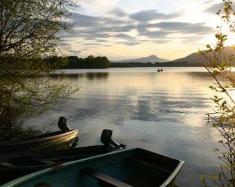 Lake of Menteith, Scotland - photographic print