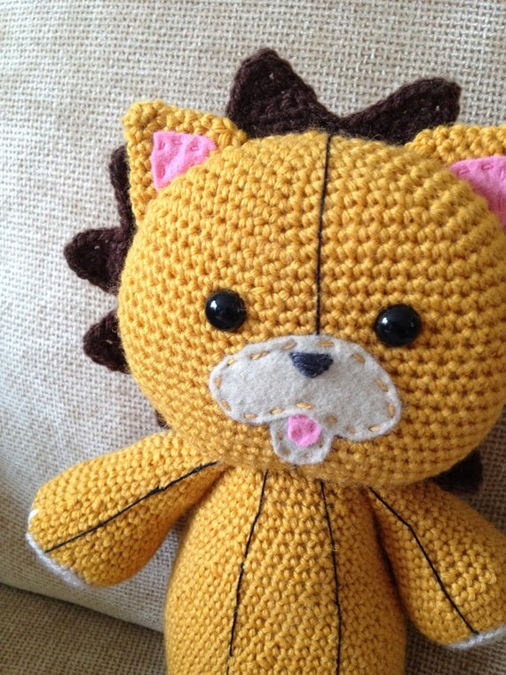 Amigurumi Reindeer Pattern Free : KON inspired crochet PATTERN ONLY bleach anime