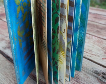 Art Journal made with Prints