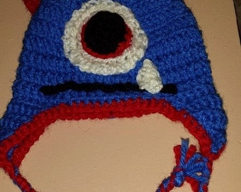 Crocheted Monster Hat