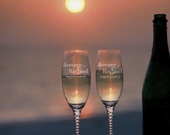 Personalized Wedding, Toasting glasses, wedding toasting glasses, Mr and Mrs, wedding, Champagne Flutes, Toasting flutes, Champagne glass