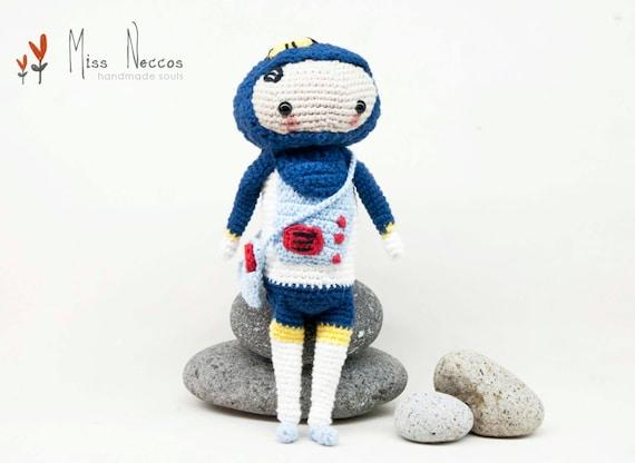 astronaut crochet - photo #9