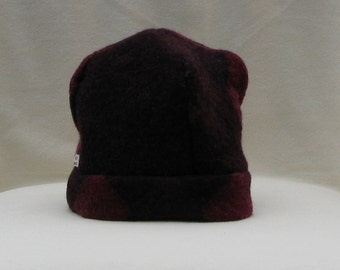 Childs Felted wool hat from gently used 100% wool sweater