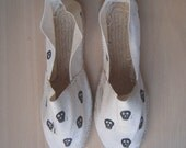 Patterned espadrilles 'Skulls'