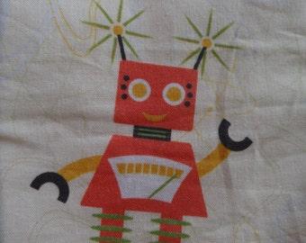 Size 0 - Handmade Romper - Space Robots