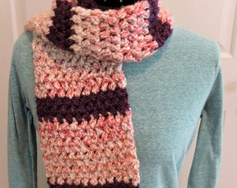 Suzies Stuff: OCTOBER SCARF DIAGONAL BLOCK STITCH (C)