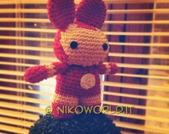 Amigurumi Handmade Iron Bunny