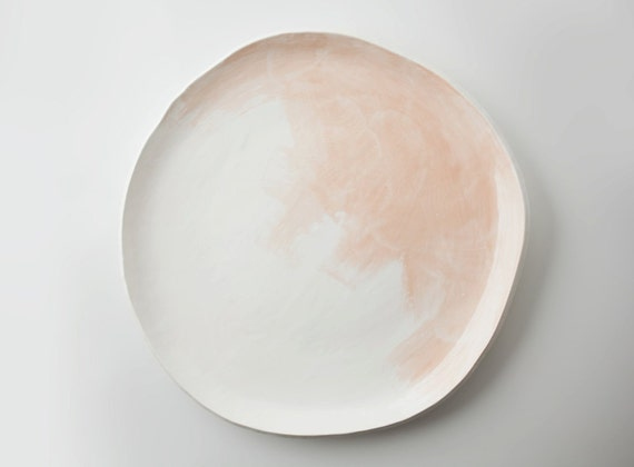 Watercolor Platter